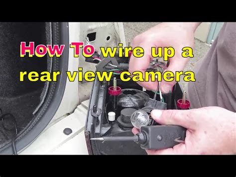 how to locate and wire your reverse lights to your rear