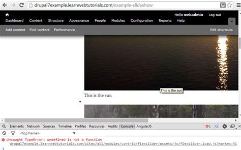 javascript date format undefined drupal flex slider tutorial learn web tutorials