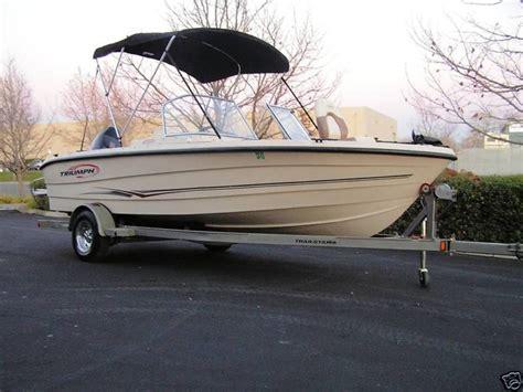 triumph boats problems triumph 191 fish and ski 2005 for sale for 400 boats