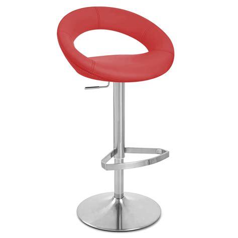 crescent bar stool crescent adjustable height swivel armless bar stool zuri