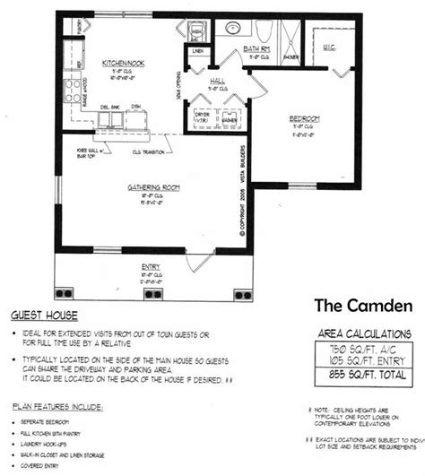 camden pool house floor plan house