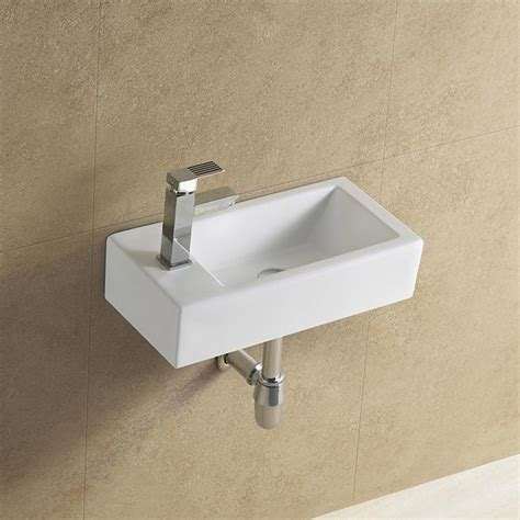 wall mounted rectangular sink rectangular wall mounted narrow sink view narrow sink