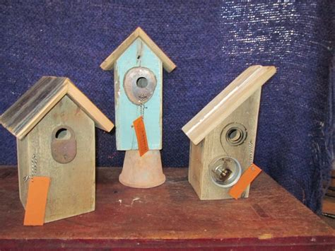 bird houses from recycled materials plan awesome house