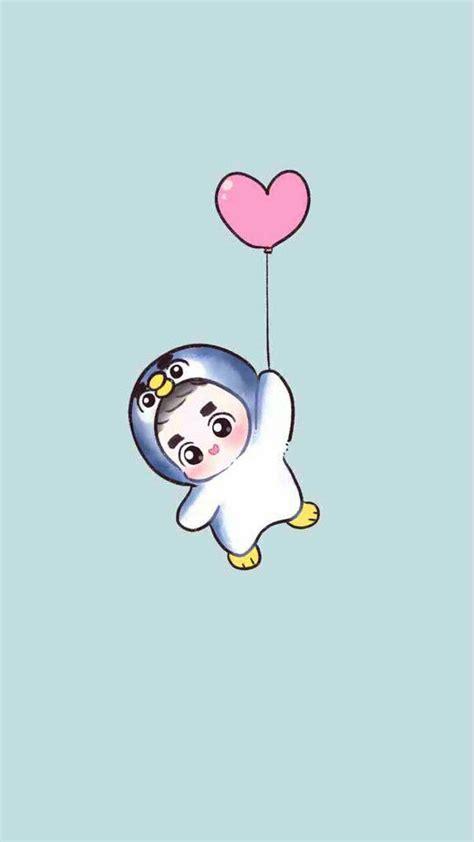 wallpaper exo cartoon 920 best exo images on pinterest fan art fanart and chibi