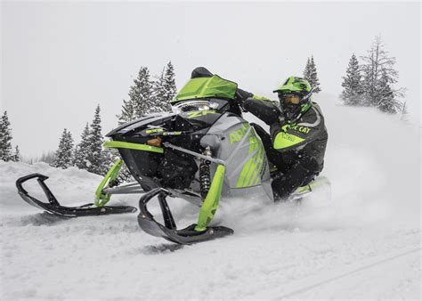 Snowmobile Sweepstakes - 2018 arctic cat snowmobiles unveiled american snowmobiler magazine
