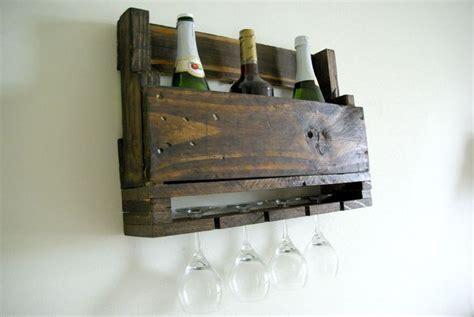 Diy Wall Mounted Wine Rack by The 25 Best Wine Rack Plans Ideas On Wine