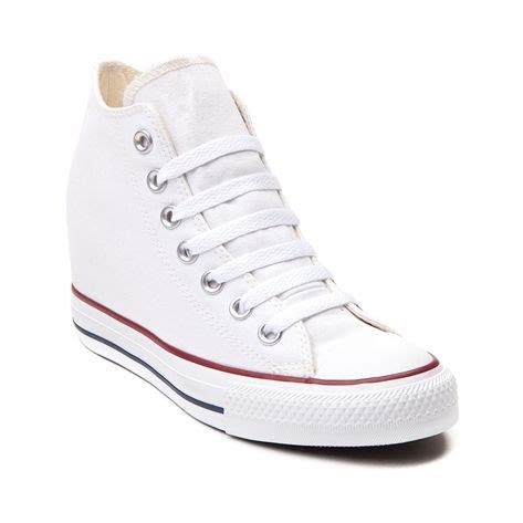 Sepatu Converse Wedges shop for converse chuck mid wedge sneaker in white at journeys shoes chucks