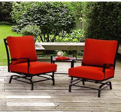 caluco san michele rocker balcony chat set multicolor
