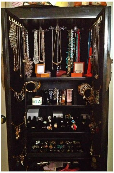 custom jewelry armoire custom jewelry armoire d 233 cor pieces of interest pinterest