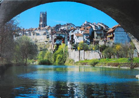 photos of fribourg postcards worldwide