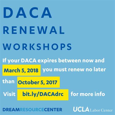 Daca Background Check Ucla Labor Center Daca Renewal Workshops
