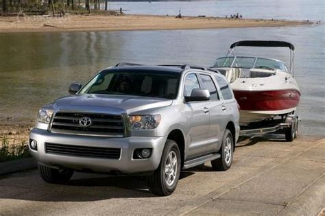 2008 Toyota Sequoia Towing Capacity Toyota Sequoia Towing Capacity Compared With Others