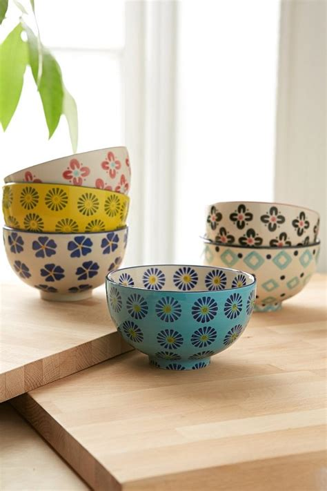 lunia flora set tosca outfitters floral treat bowl set shopstyle kitchen