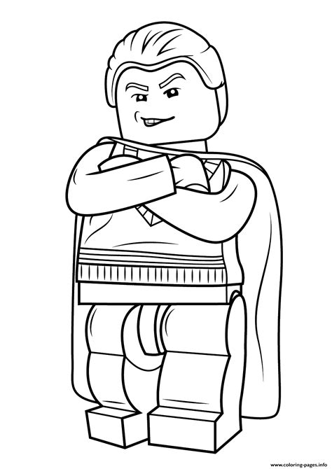 harry potter coloring pages draco lego draco malfoy harry potter coloring pages printable