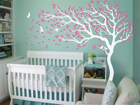 white tree wall decals for nursery nursery tree wall decals wall stickers wall tree decals