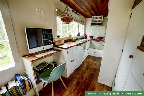tiny home with a big kitchen diy cottage style tiny house revisited living big in