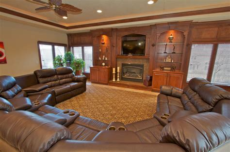 custom living room minnesota cabinet maker custom entertainment centers