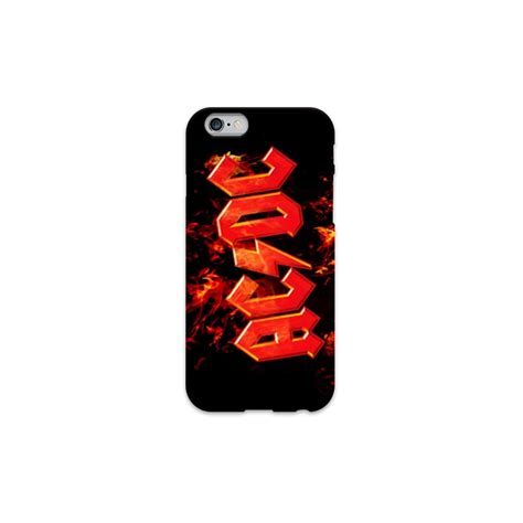 Acdc For Iphone 6s cover ac dc per iphone 3g 3gs 4 4s 5 5s c 6 6s plus