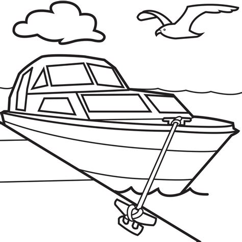 Cartoon Boats Colouring Pages Cliparts Co Coloring Pages Boats