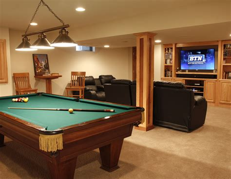 finished basement photos gallery