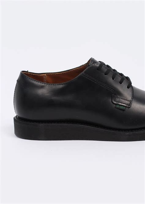 work oxford shoes wing shoes 101 heritage work oxford postman shoes black