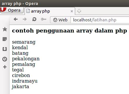isi for array tipe data array pada php dum17