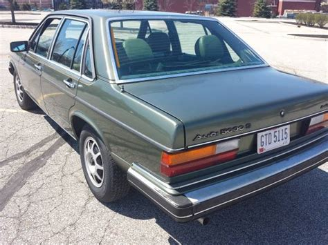 kelley blue book classic cars 1988 audi 5000s interior lighting service manual 1980 1985 audi 5000s the 1980 1985 audi 5000s the shape of things to come