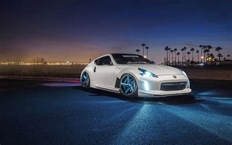 nissan 370z custom wallpaper white custom lowered nissan 370z hd wallpaper wallpaper