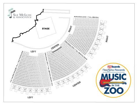 Minnesota Zoo Gift Card - seating map sue mclean associates