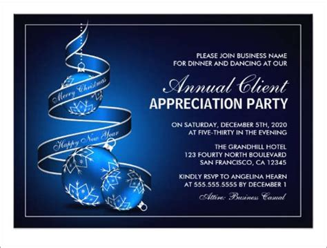 8 Appreciation Dinner Invitations Word Psd Ai Illustrator Publisher Free Premium Templates Customer Appreciation Event Invitation Template