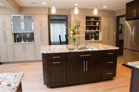Espresso Kitchen Cabinets With Granite by Kitchen