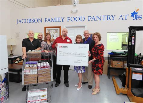 Family Pantry by Jfs Receives 10 000 Grant From Bj S For Food Crisis