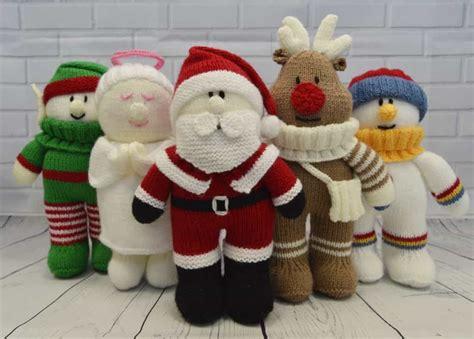knitting christmas festive friends knitting pattern knitting