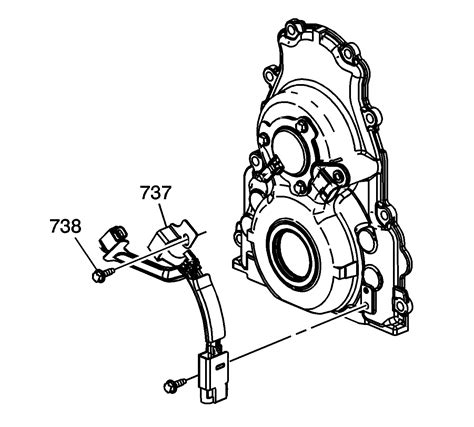Repair Instructions Off Vehicle Engine Front Cover