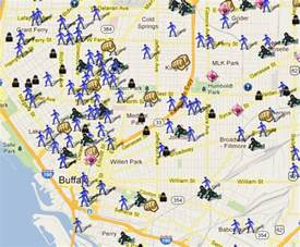 Crime Map Of New York by Law Enforcement In The New York Metropolitan Area