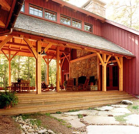 big timberframe dogtrot platt architecture pa platt