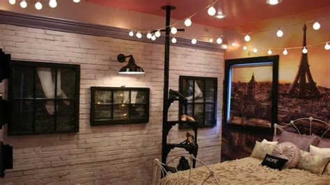 extreme home makeover bedrooms an paris rooftop complete with a barn light electric