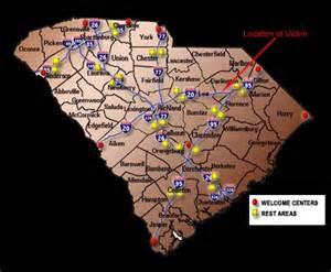 rest area map doe darlington county sheriff s office