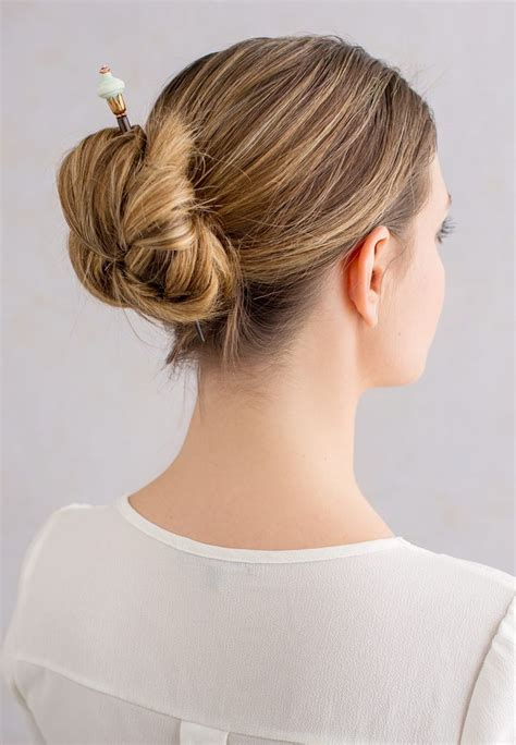 hairstyles for hair that sticks up 24 best hair stick styles images on pinterest