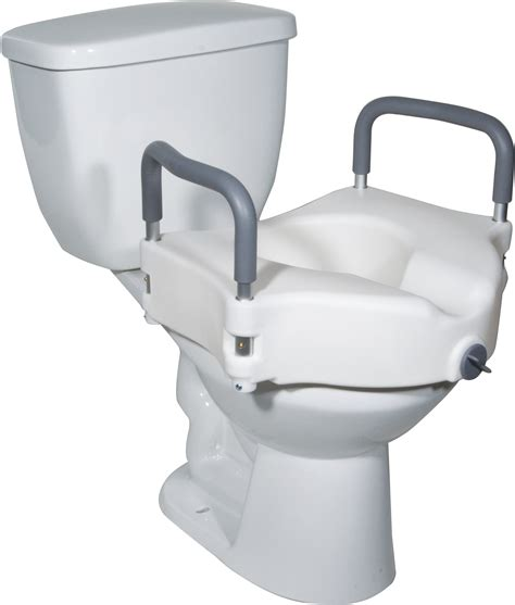 handicap toilet seat walmart elevated raised toilet seat with removable padded arms