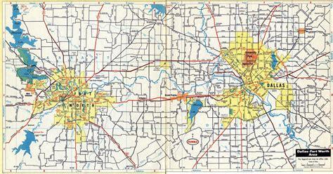 map of dfw dfw maps my