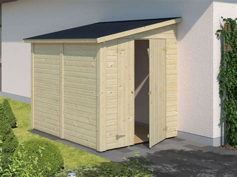 cobertizos de jardin cobertizo de madera mia 3 4 m2 para le 209 a o accesorios de
