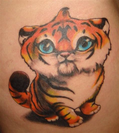 tattoo pictures tiger cute little tiger tattoo design busbones
