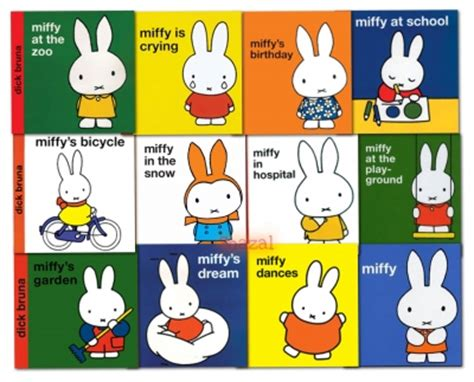 miffy classic library collection dick bruna 12 books set