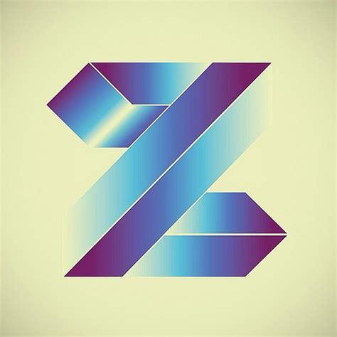 typography a z z futurist 36days z 36daysoftype typeart typedesign