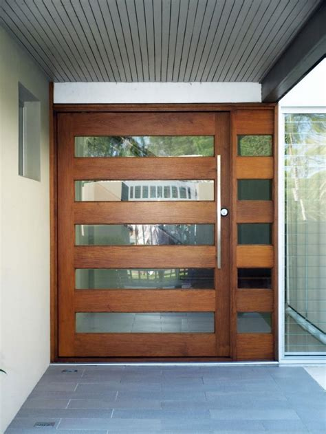 modern front doors   side panel decor units