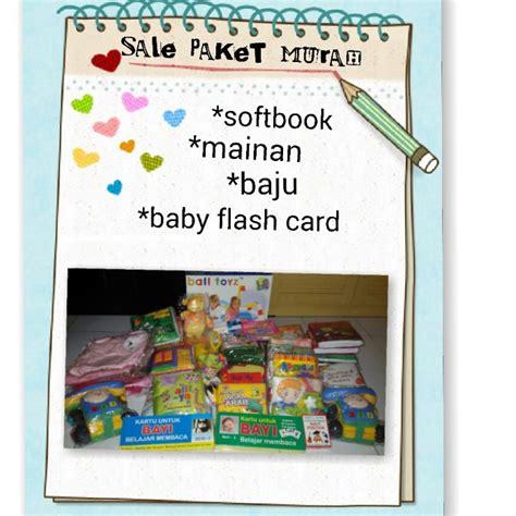 Sale Buku Bantal Sale Paket Murah Softbook Buku Bantal Mainan Flashcard