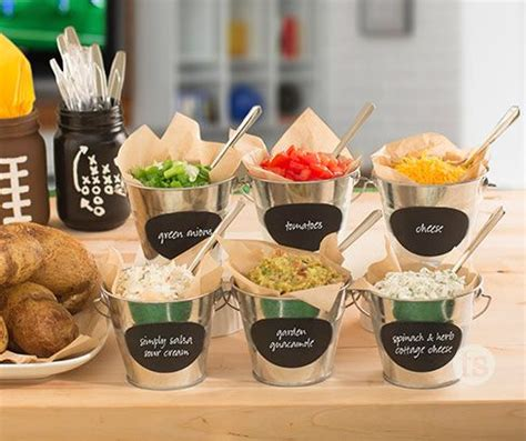 potato bar toppings game day baked potato bar recipe peach sauce potato