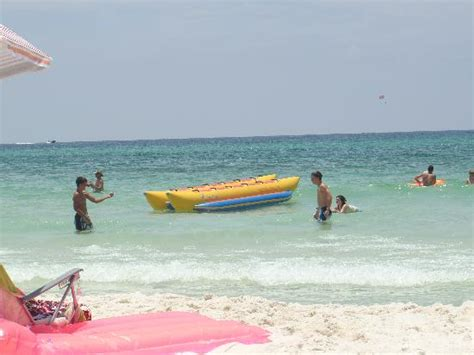 banana boat rides pcb fl view of resort picture of wyndham panama city beach