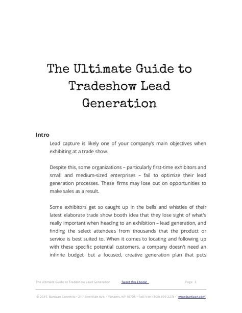 stock trading the ultimate guide on how to the ultimate guide to tradeshow lead generation